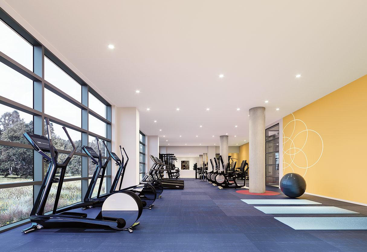 Gym des condos LB9