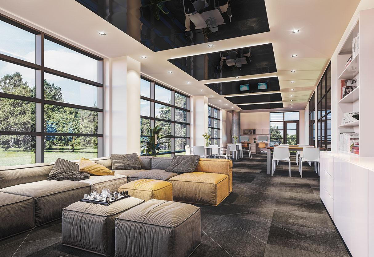 Lounge des condos LB9