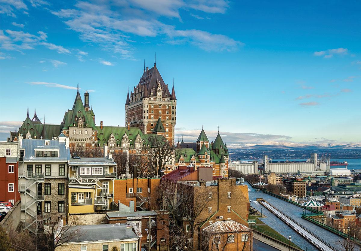 Dans la ville de Québec